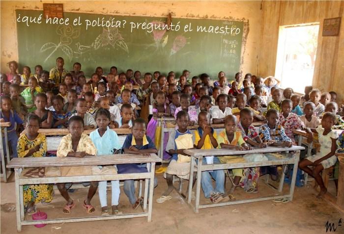 Colegio Burkina.Maria Oliva